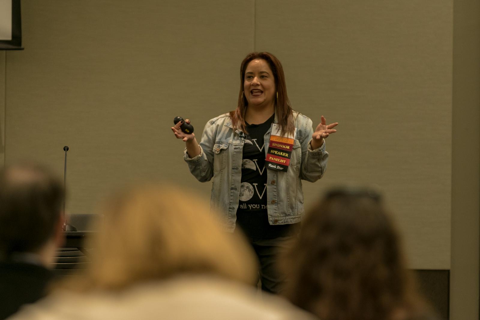speaker at keys to digital marketing success conference