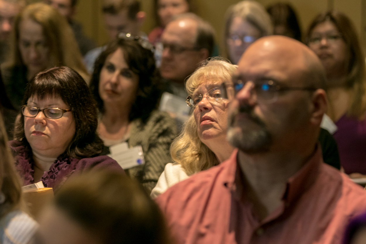 audience members at keys to digital marketing conference in lisle illinois